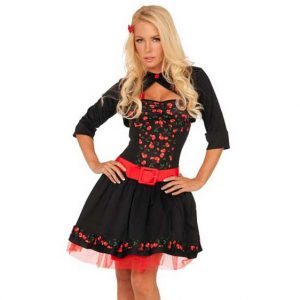 50s Cherry Bomb Rockabilly Costume