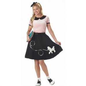 50s Sock Hop Sweetie Costume Set