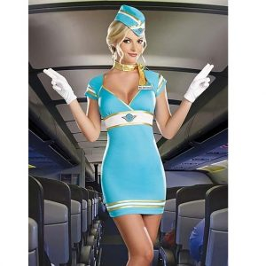 Air Candy Flight Attendant Costume