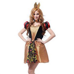 Beauty Queen of Hearts Costume
