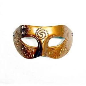 Gold Mens Masquerade Mask