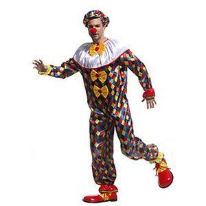 Deluxe Funny Clown Costume