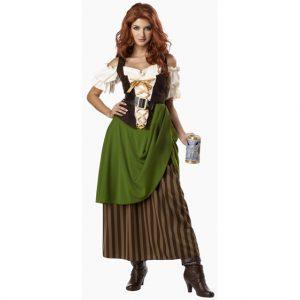 Deluxe Oktoberfest Tavern Maiden Costume
