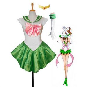 Green Sailor Jupiter Costume