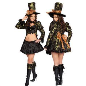 Mad Hatter Tea Party Tease Plus Costume