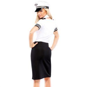 Naughty Mile High Pilot Costume Set