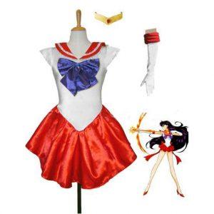 Red Sailor Mars Costume