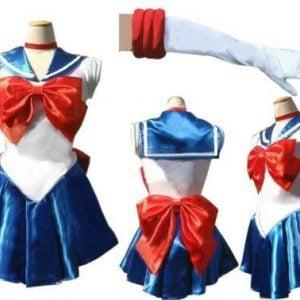 sailor moon costumes back