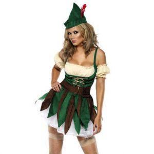Sexy Womans Robin Hood Costume