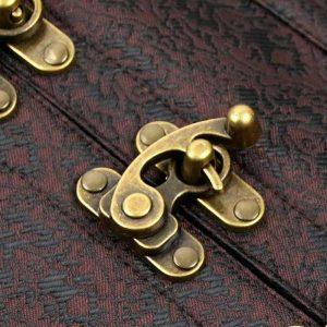 Steampunk Steel Boned Gothic Vintage Brocade Underbust Corset Vest Brown